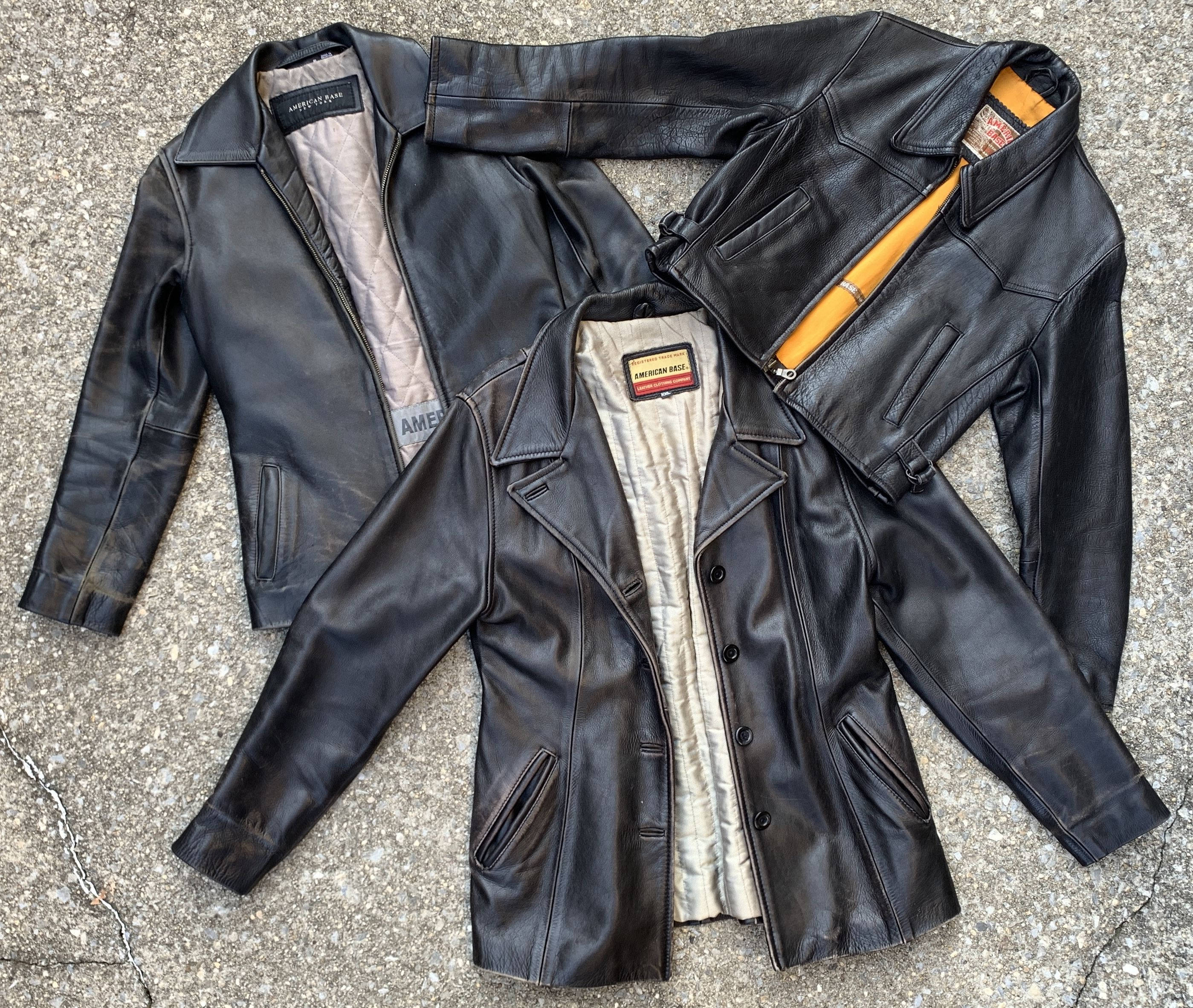 American Base Leather Co Leather Leather Jacket Thick Leather [ 2365 x 2798 Pixel ]