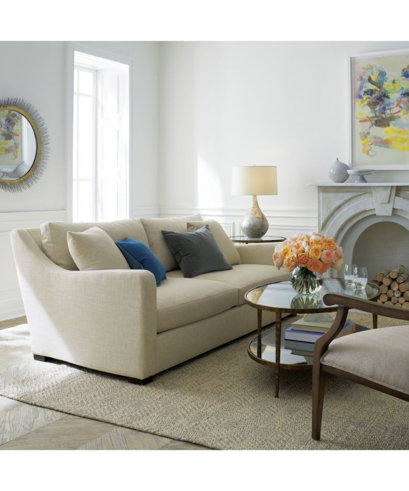 Clairemont Oval Coffee Table Living Room