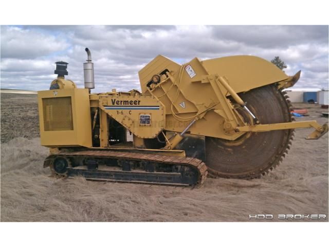 Vermeer T600 Ditcher Trencher Or Plow For Sale Hdd