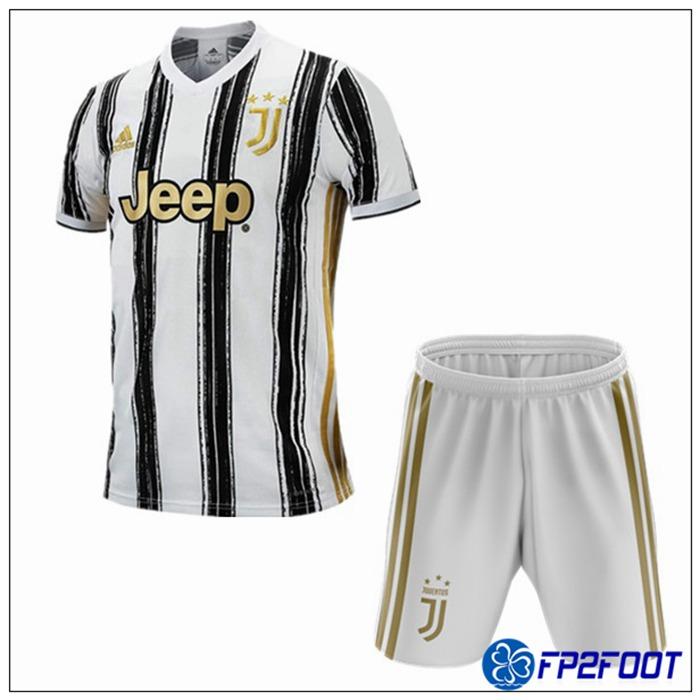 Nouveau Maillot de Foot Juventus Enfant Domicile 2020/2021
