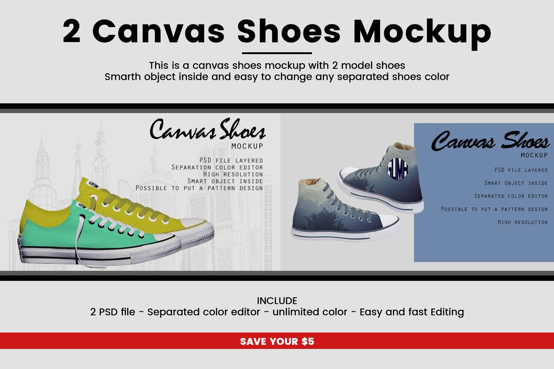 Download 2 Canvas Shoes Mockup Sponsored Design Product Show Perfect Ad Design Mockup Free Mockup Mockup Psd