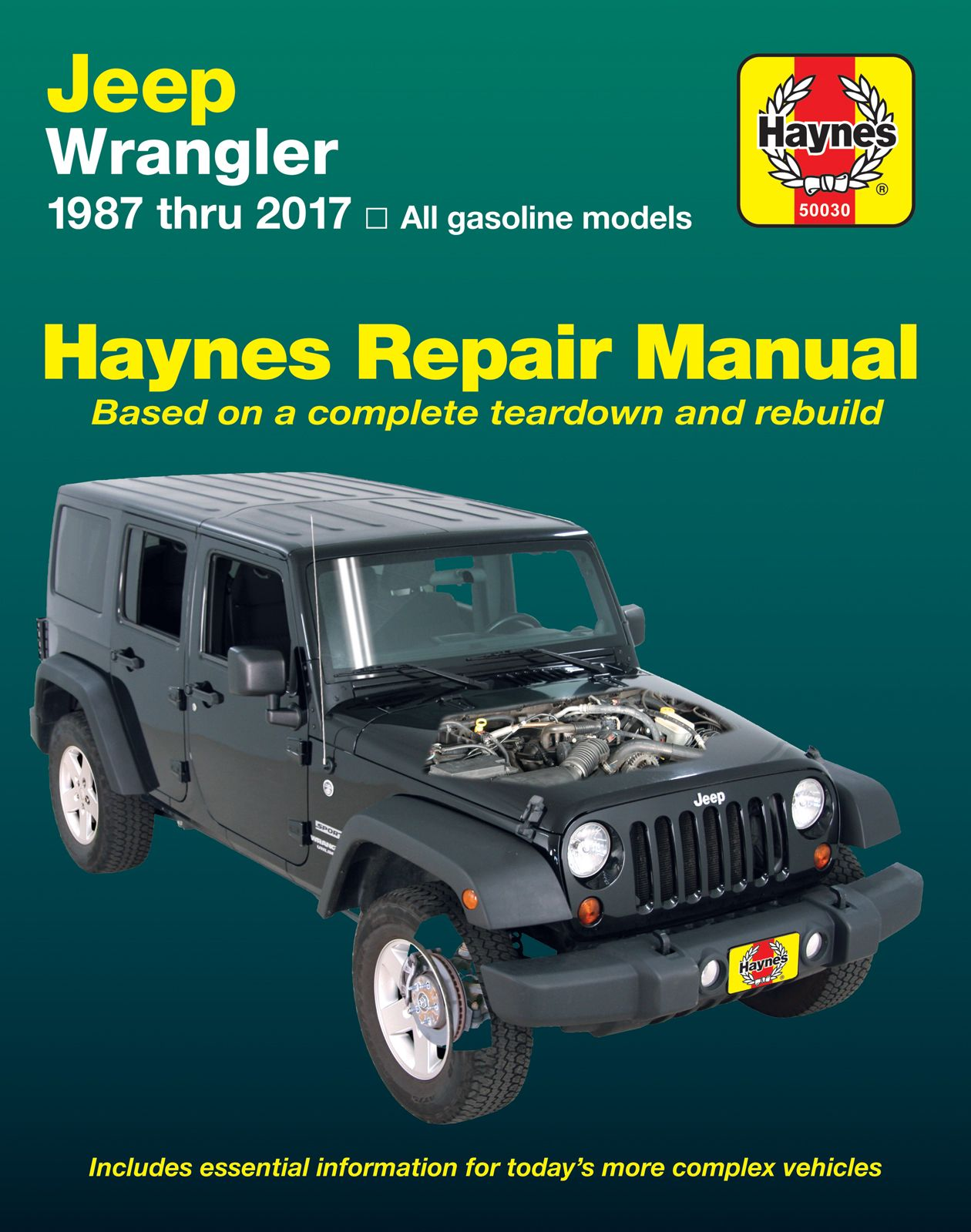 Jeep Wrangler 1987 2017 Repair Manuals Jeep Wrangler Jeep