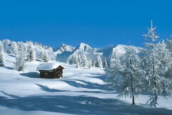 Alpine scenery, Carinthia, Austria. Karnische Region - Lesachtal - Kärnten