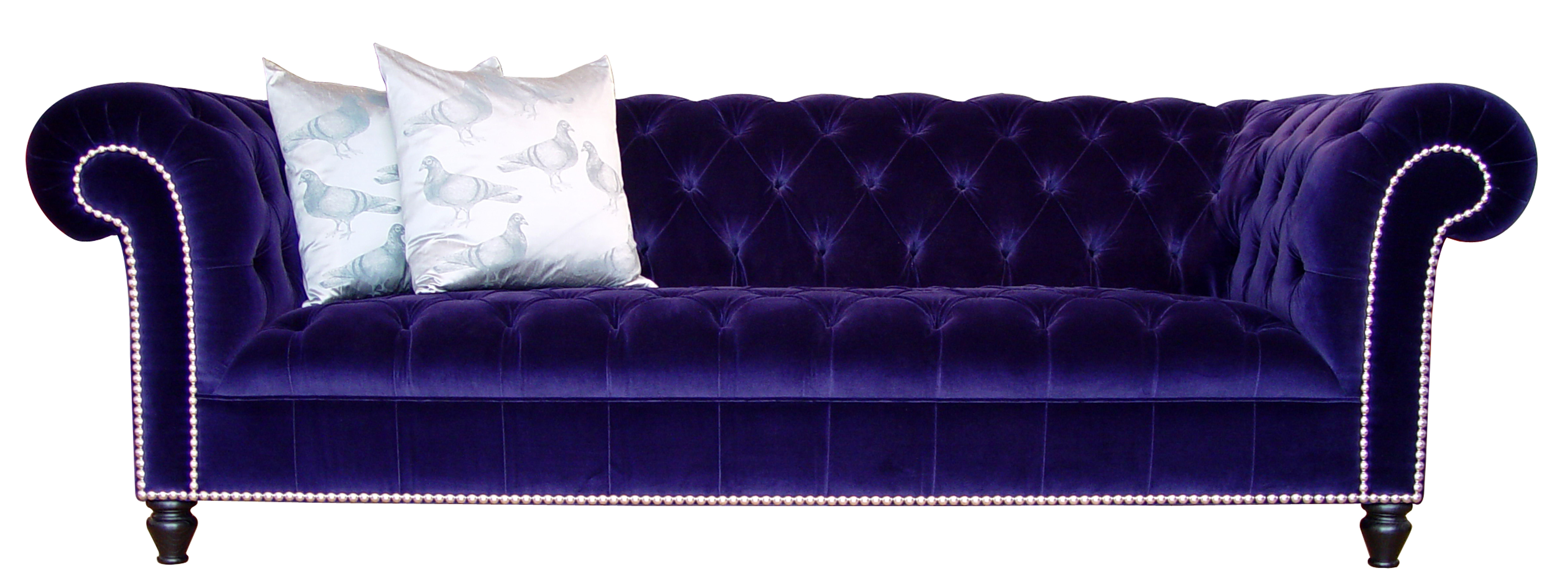 Purple Velvet Chesterfield Sofa Ashley Velvet Chesterfield Sofa Abode Sofas TheSofa