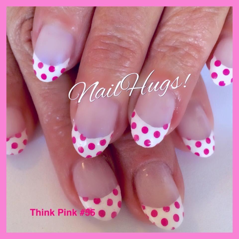 Nail Hugs- Think Pink Nail hugs are thin non toxic paper appliques ...