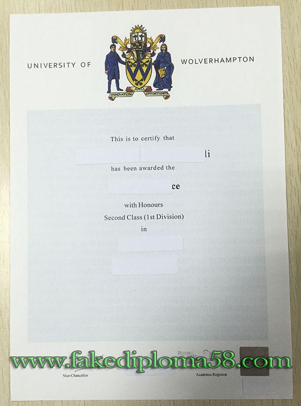 University Of Wolverhampton Degree Buy Fake Degree Buy Fake