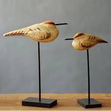 Resultado de imagen para maderas talladas con pajaros