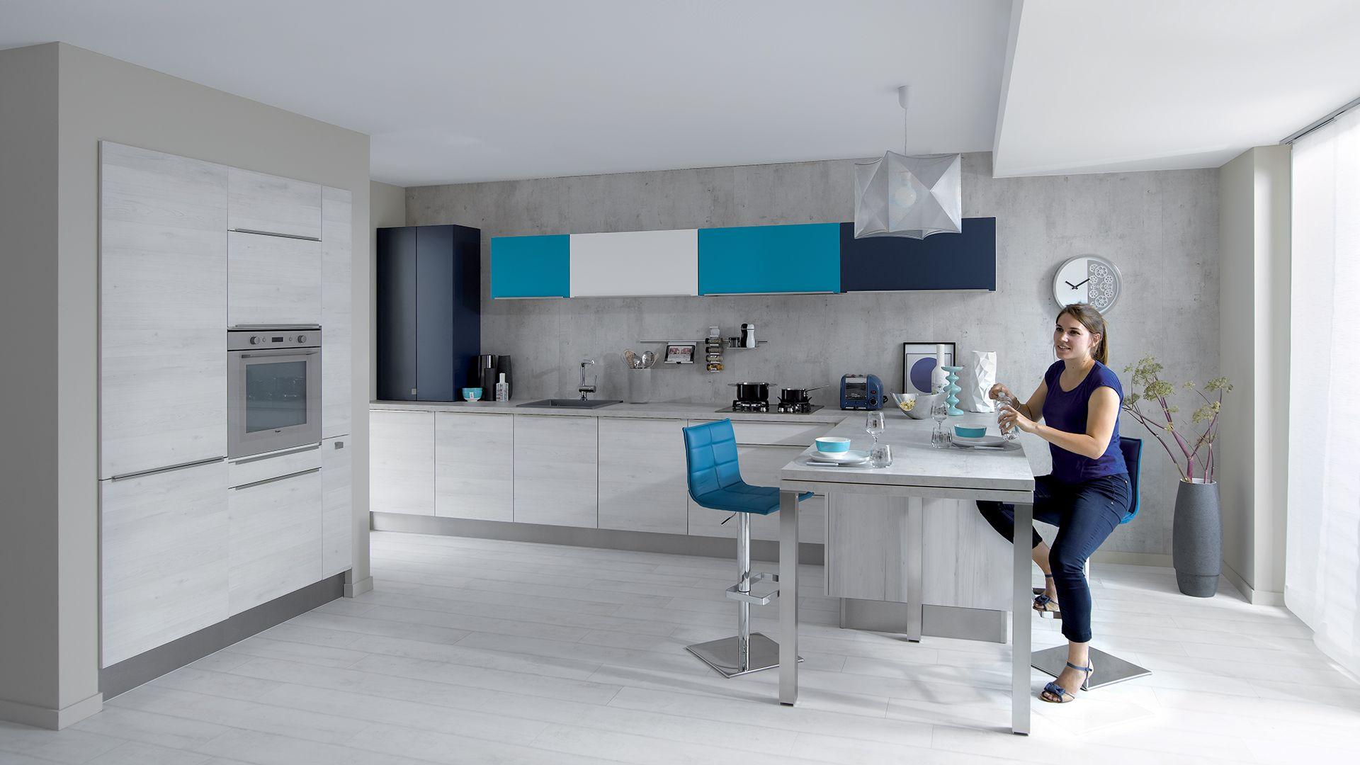 cuisine quip e trend style design blanc cuisinella d co cuisine pinterest. Black Bedroom Furniture Sets. Home Design Ideas