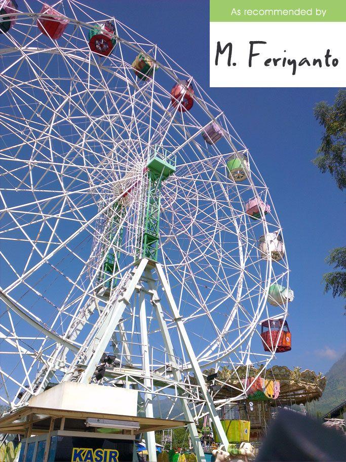 Wahana Giant Wheel Di Batu Secret Zoo Kota Batu Malang Jawa Timur Captured By Htc One X Indonesia