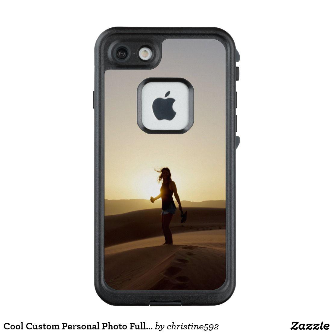 Cool Custom Personal Photo Full Bleed Lifeproof Iphone Case Zazzle Com