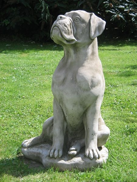 Amazing Large Boxer Dog Statue 1 (450×600)