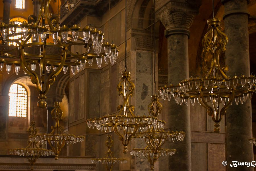 The chandeliers of hagia sophia istanbul turkey bucket list the chandeliers of hagia sophia istanbul turkey aloadofball Images