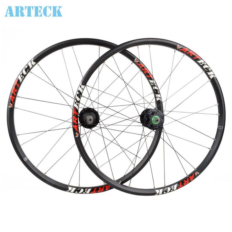 Arteck 24 Inch Mountain Bike Quick Release Wheel Disc Brakes Front