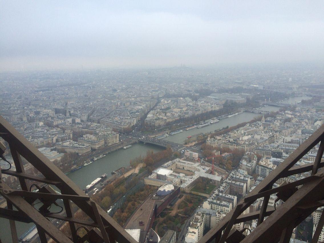 Un jour à la Tour Eiffel
