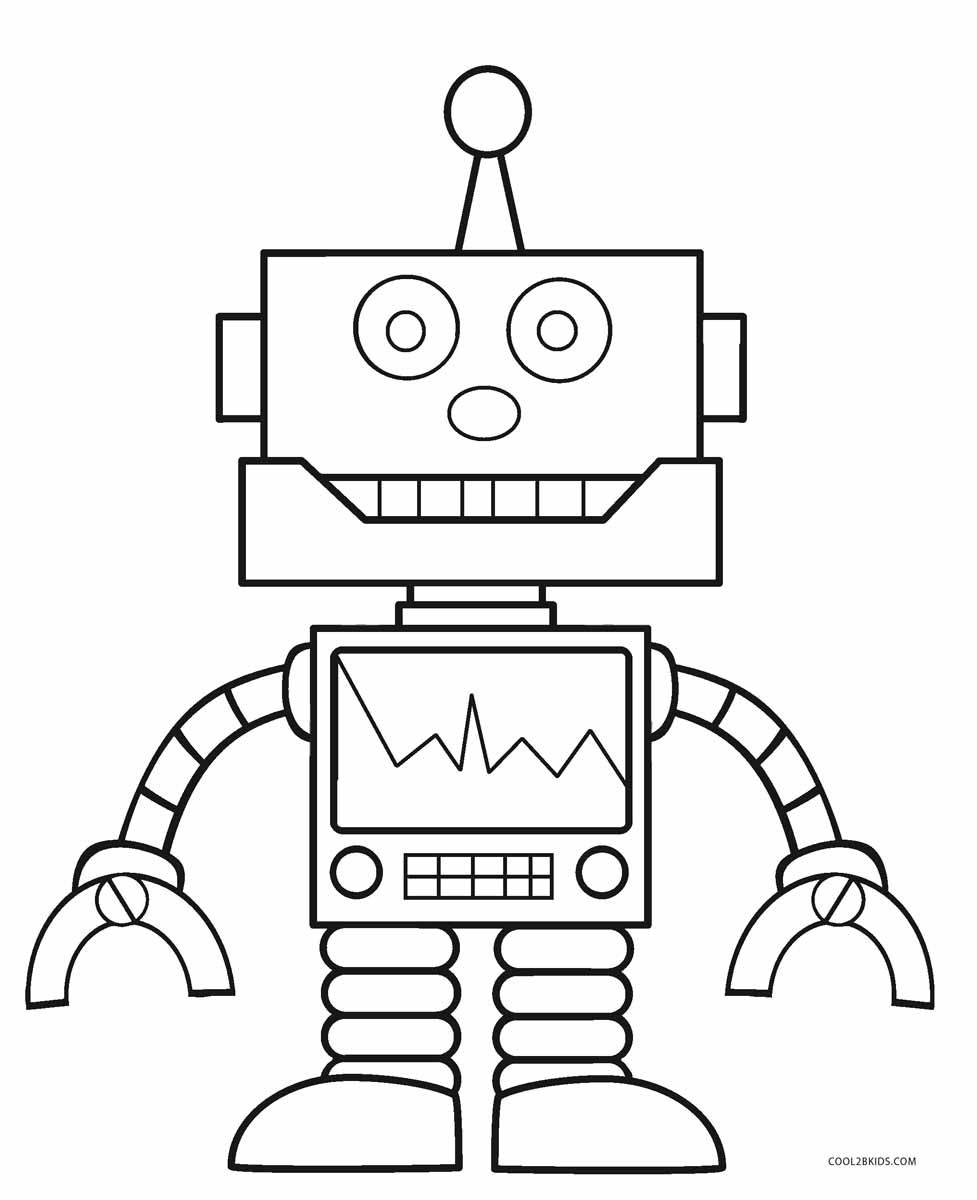 Fresh Coloring Pages Robots Download Free Kids Coloring Pages