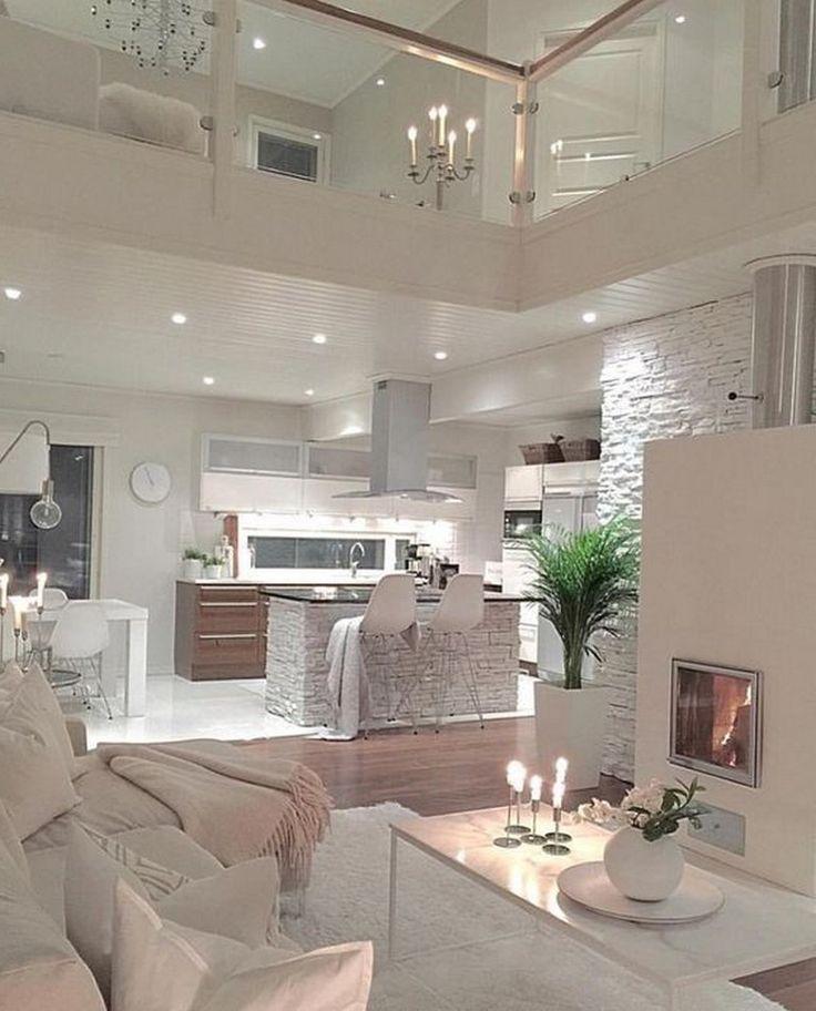 47+ Atemberaubende, gemütliche Wohnzimmer-Design-Ideen ...