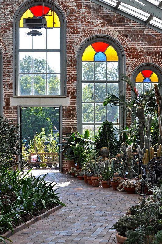 Linnean Hall #botanicgarden