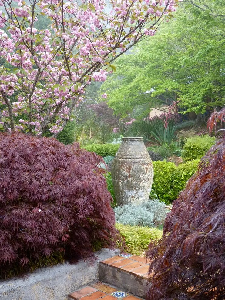 Extraordinary Creating A Zen Garden Ideas In Landscape Traditional Design Ideas With Bushes Medit Flowering Cherry Tree Traditional Landscape Japanese Garden