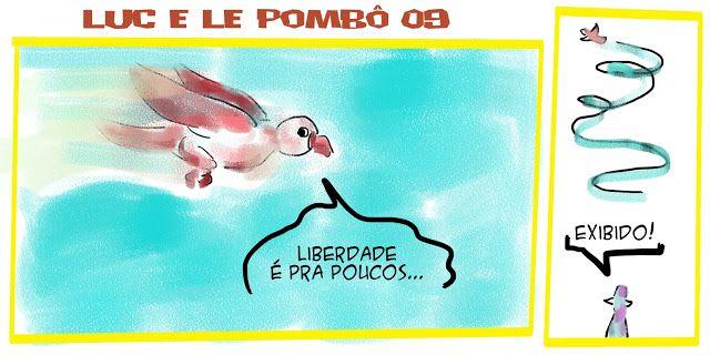 RABISCOS ENQUADRADOS: LUC E LE POMBÔ 09