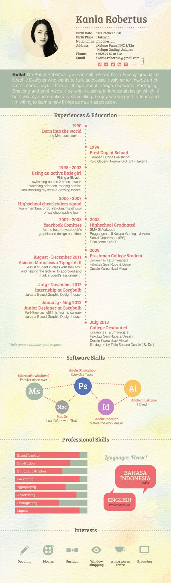 graphic design resume examples photography graphic design web 30 examples of creative graphic design resumes infographics