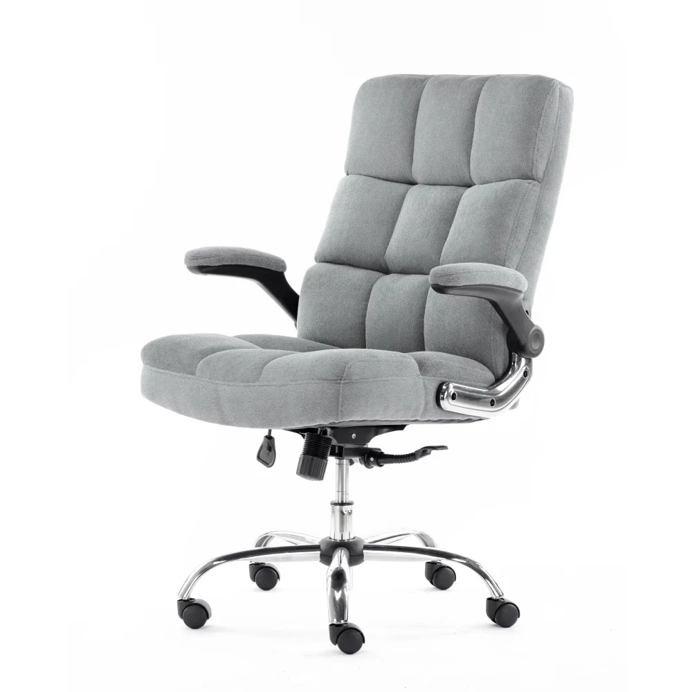 ALEKO Ergonomic Upholstered Fabric Luxury Office Chair
