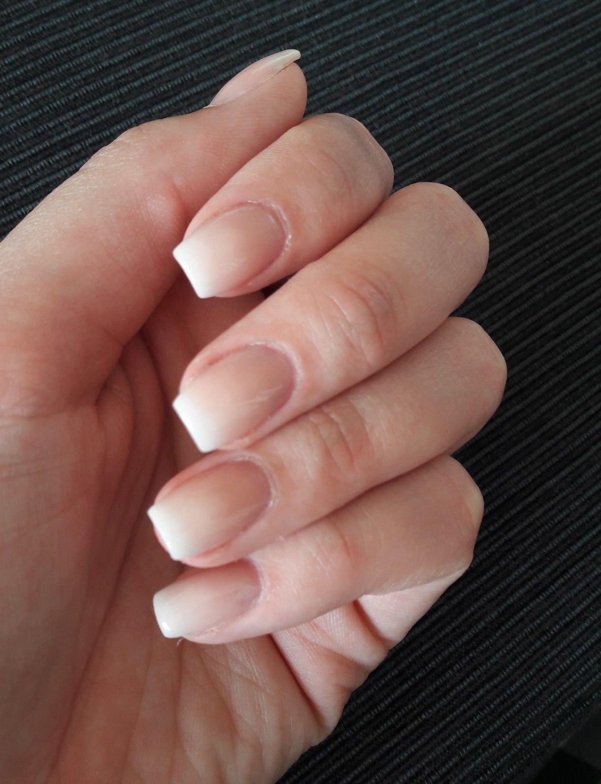 Uv Nails Naturliche Gelnagel Babyboomer Nails Pinterest