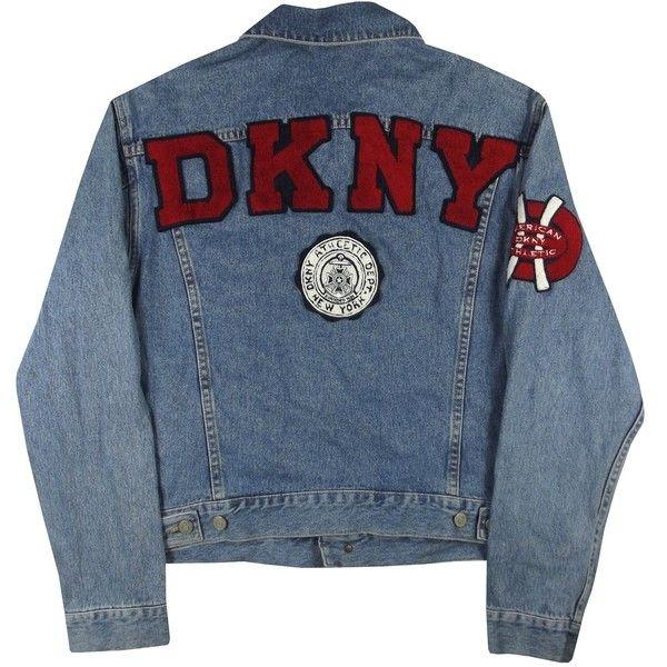 Vintage DKNY Denim Jacket Size Medium Grubby Mits ($65