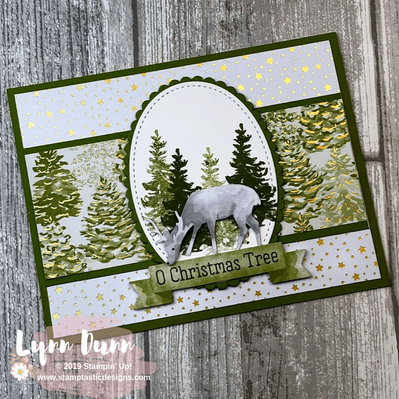 8 Easy Christmas Cards - Most Wonderful Time Product Medley | Lynn Dunn