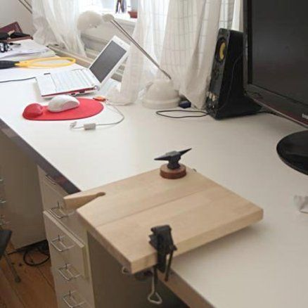 Portable worktable for small works / jewelry