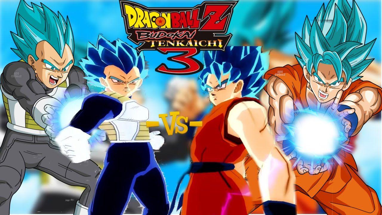 Dragon Ball Z: Budokai Tenkaichi 3 What If: Goku SSJ Blue vs