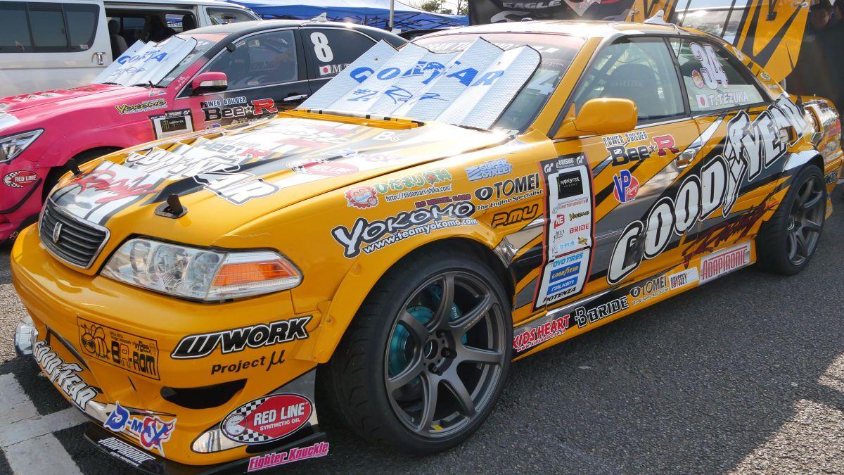 Tsuyoshi Tezukau0027s Mark II #racecar #JDM #drift #JZX100 #Toyota #JZXWorld