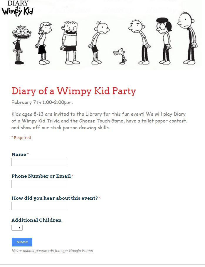 Diary Of A Wimpy Kid Party Wimpy Kid Kids Diary Wimpy