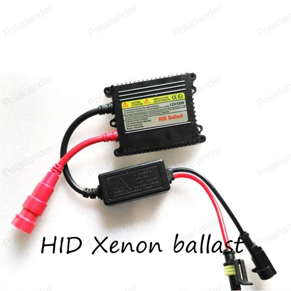 1pcs 12v Xenon Ballast 35w Digital Slim Hid Blocks Ignition H4 To H13 Wiring Harness Electronic For Kit