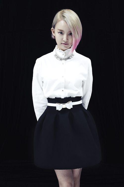 Younha Short Hair Styles Asian Beauty Cabello Hair