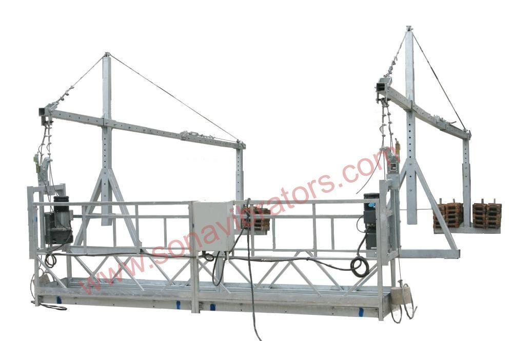 Suspended Platform Rope And Hanging Work Platform In India Stirrup Bender Machine Work Platform Scaffolding Manufacturing