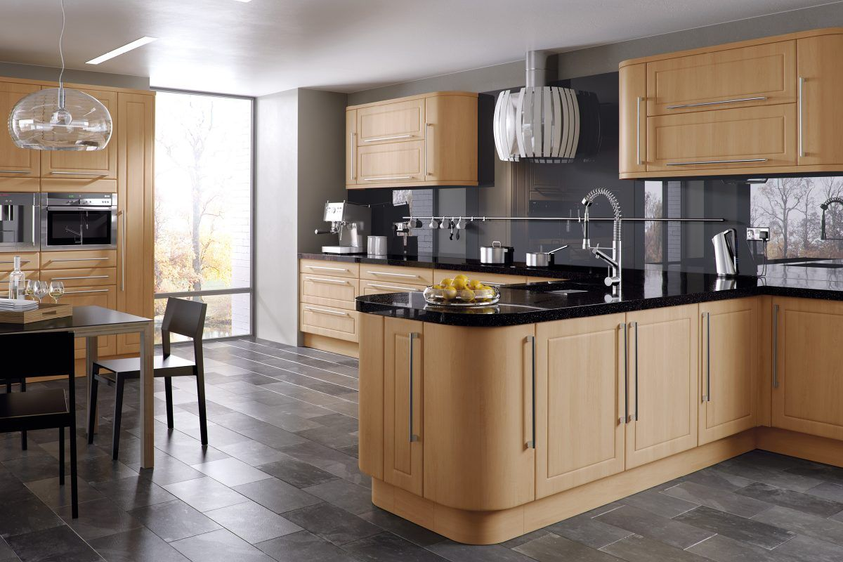 Bella Canadian Maple Ashford Kitchen In 2020 Kitchen Cabinets For Sale Kitchens And Bedrooms Modern Wood Kitchen