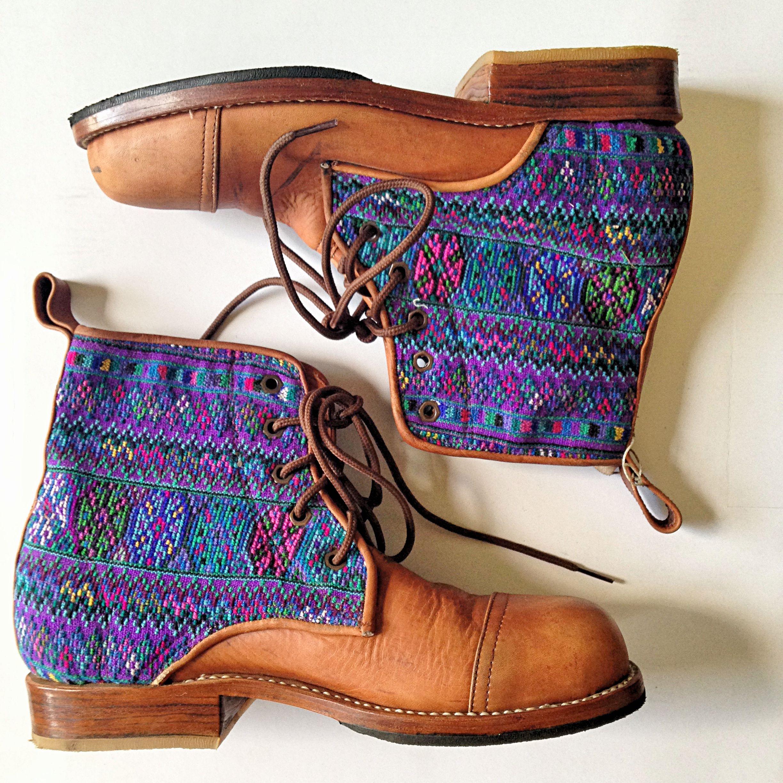 Purple and blue oh how we love you! #handmade #boots #teysha