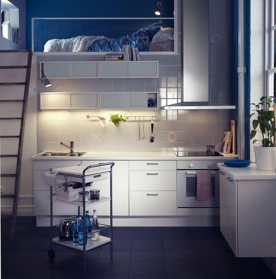 cocinas pequeñas | forniture | Pinterest | Cocina pequeña, Pequeños ...