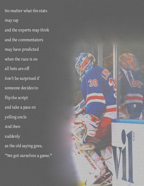 Love This Quote 3 Used It In A Pre Game Speech Once Hockey