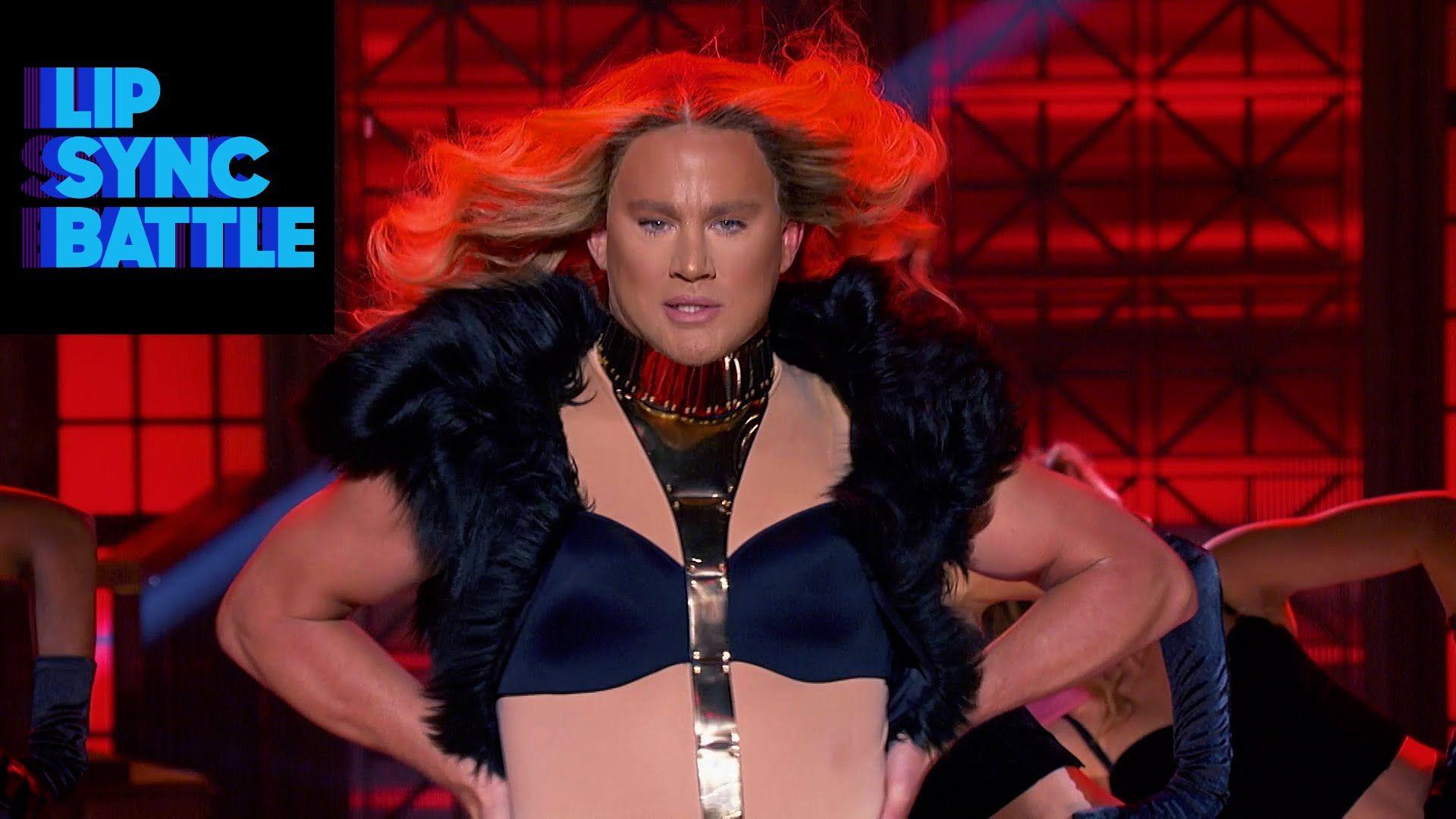 "Channing Tatum & Beyonce s ""Run The World Girls "" vs Jenna Dewan"