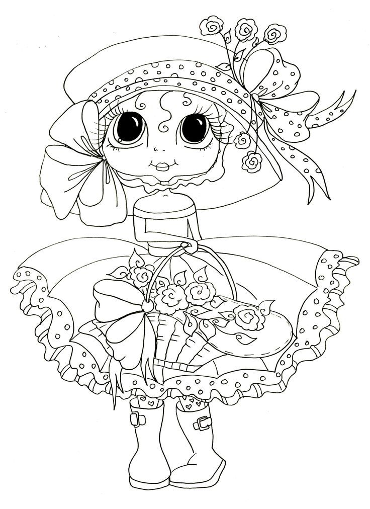 Ruby Begonia | Digi stamps, Coloring pictures, Coloring pages