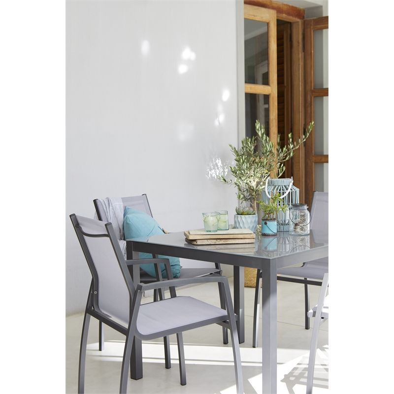 Opale 4 Seater Garden Furniture Set at Homebase.co.uk ...