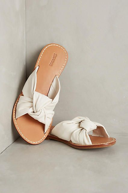 4245f42285ff45 Soludos Knotted Slide Sandals