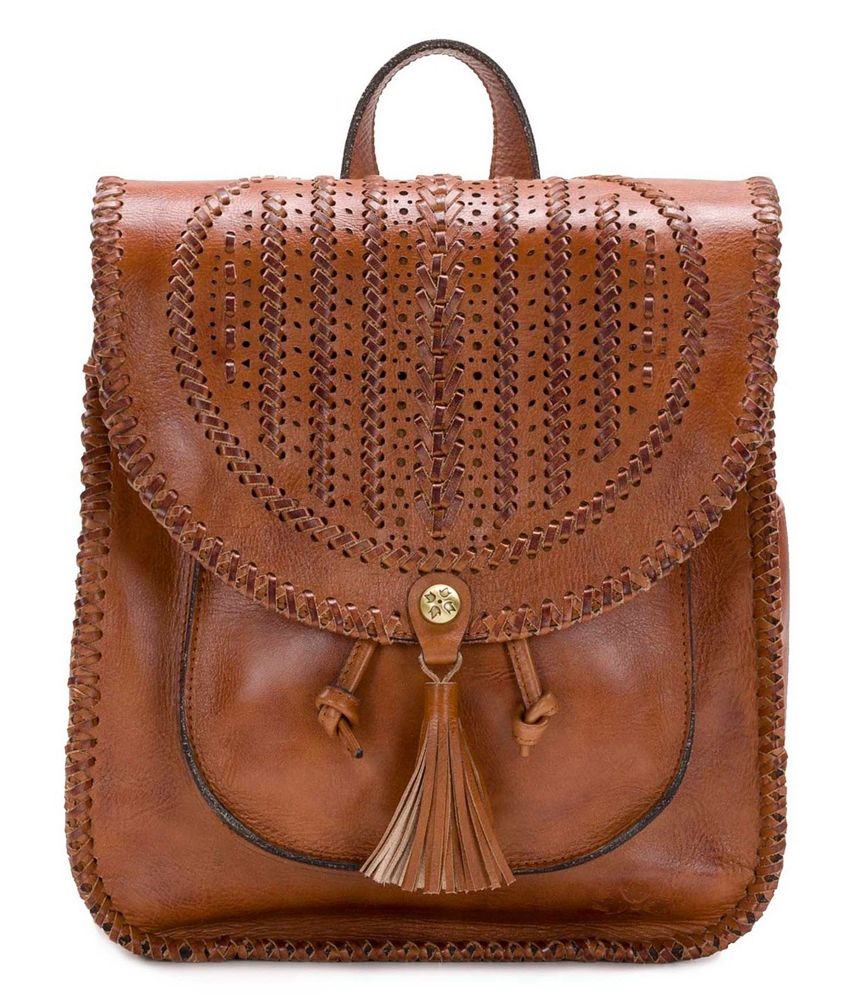 6f2aff3a8482 Patricia Nash Braided Perf Collection Jovanna Backpack  Dillards ...