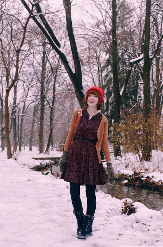 The Clothes Horse: Snow Day
