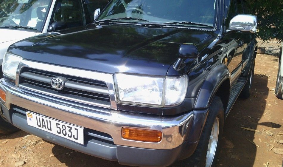 A Toyota Surf UAU on sale is a well maintained car at 26m