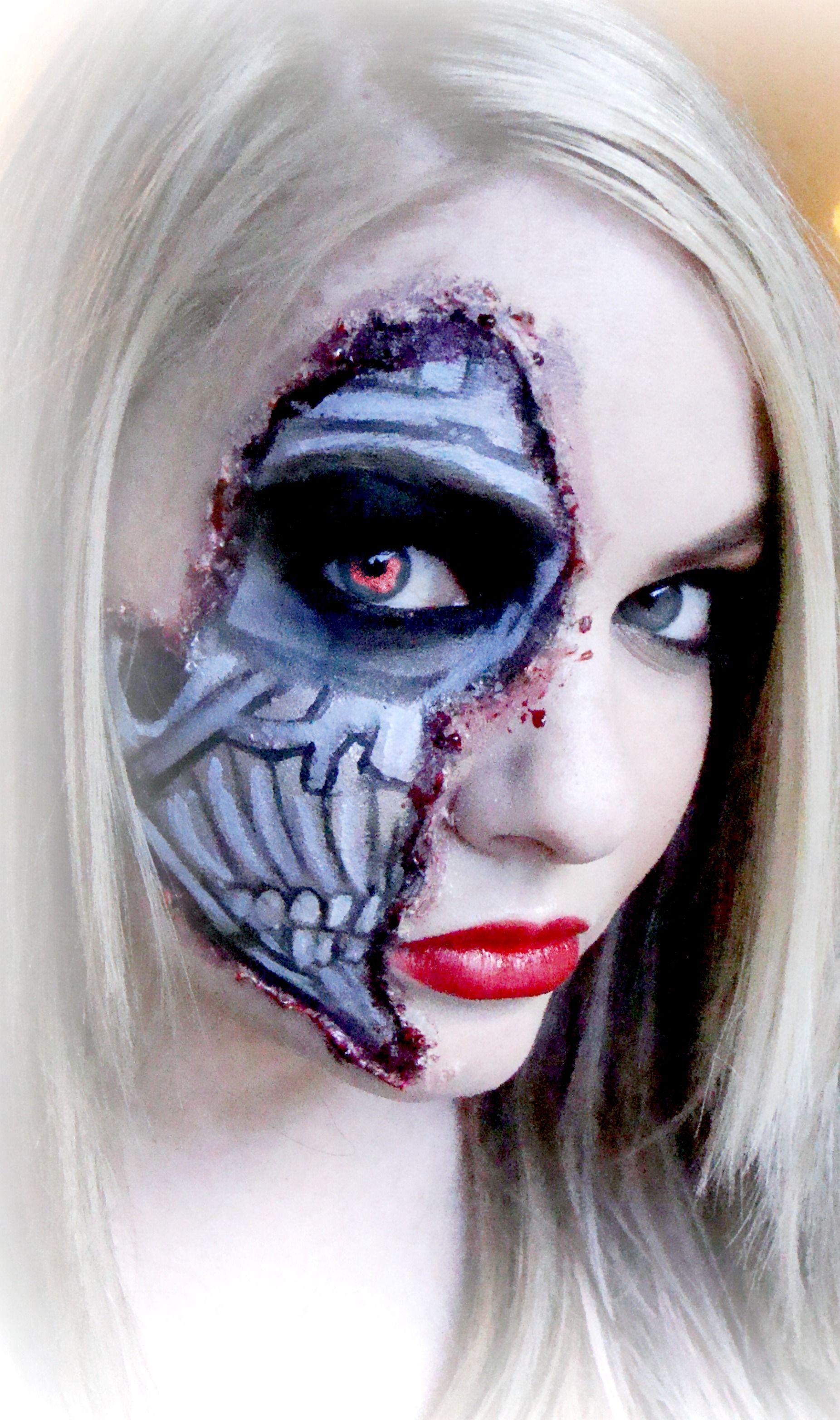 Halloween #Sephoraselfie #makeup #makeupartist #speacialeffects My ...