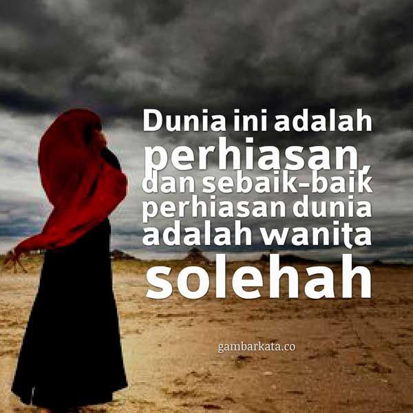 Gambar Kata Kata Islami Wanita Shalehan Kata Kata Motivasi