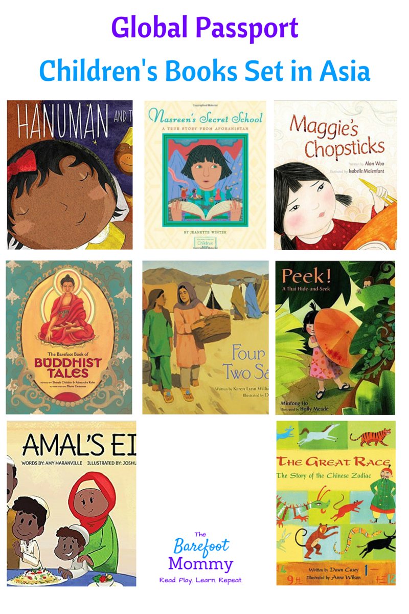 Take kids on a trip to Asia with these picture books. Explore culture,  religion, games, animals, and more with books set in India, Afghanistan,  China, ...
