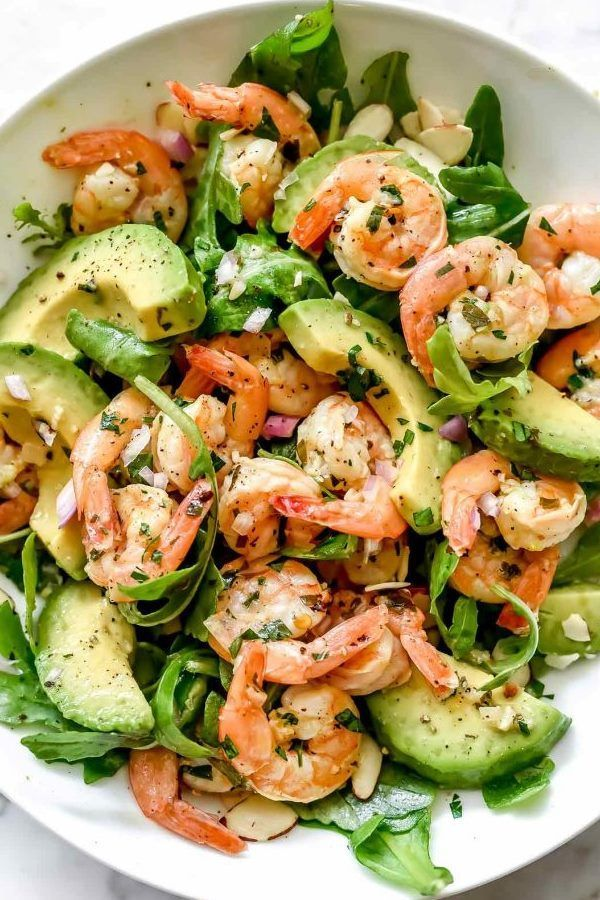 Citrus Shrimp And Avocado Salad -